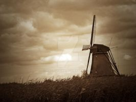Antique Mono Dust in the wind by MrSlowNiko
