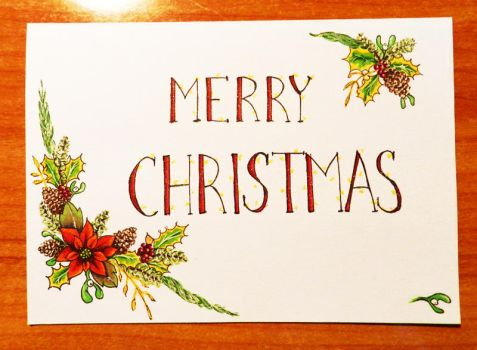 Holiday Card Project 2013 by Aamarka
