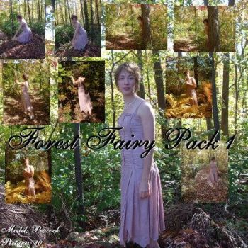 Forest Fairy Pack 1 by Nekoha-stock