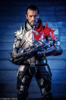 Commander Shepard Mass Effect Cosplay - Leon Chiro by LeonChiroCosplayArt