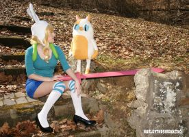 Fionna The Human:  Girl Talk by HarleyTheSirenxoxo