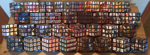 Rubik's Cube Collection by Mime-Kirby
