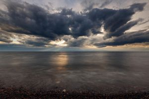 Evening on Lake Baikal by khmaria