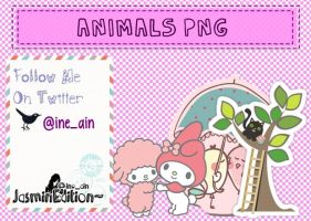 ANIMALS PNG PACK [CA] by JasminEdition