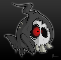 Duskull by kitty-23