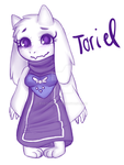 Toriel by EveOfNight