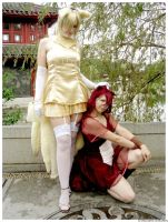 Ninetales cosplay 2 by Xx-lil-xX