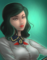 BI - Burial At Sea: Elizabeth by niqichui