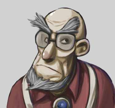 Curmudgeonly Carl by Worthikids
