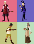 Medievalstuck: Alpha kids by Oreramar