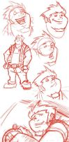 Megas XLR Coop study by WatchTehTail