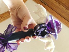 Sailor Saturn Henshin Wand by chickenlady4321