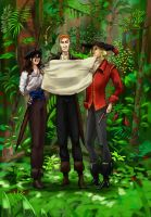 Pirates in the jungle by Ewela1130