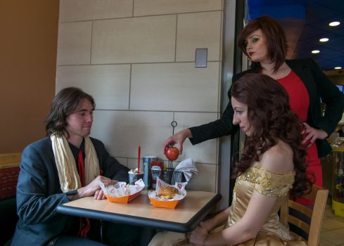 Never an Uninterrupted Date by AdornCosplay