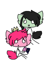 Marshall Derp And Prince Gumderp by LauriiButt