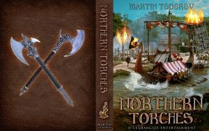 (PUBLISHED) Book Cover - Northern Torches by Freijo