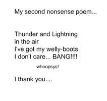 Silly Poem Number 2 by Aswang301
