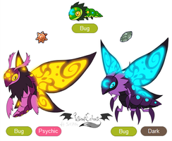 Bug Fakemon by VibrantEchoes