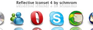 Reflective Iconset 4 by schmrom