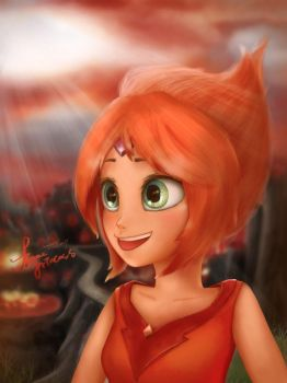 flame princess by summilly