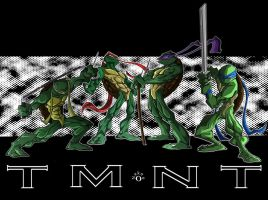 TMNT Wallpaper by Nekoo0