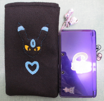 GIFT - Shiny Umbreon 3DS XL Pouch by rowanasabredancer