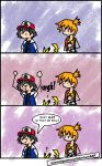 PKMN: GS Ball Comic by OneWingedMuse