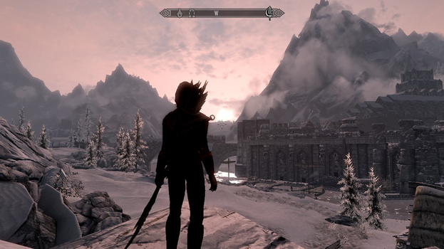 Beautiful views of Skyrim by ArisuRyuu