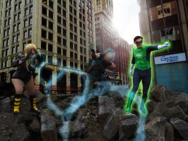The League of Superheroes Ottawa by TheValleeOfCosplay