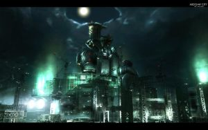 Midgar High Quality Wallpaper by wingsofwar