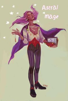 ADOPT AUCTION {Astral Mage} CLOSED by ccloudyy-adopts