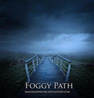 Foggy Path by ImaginaryRosse