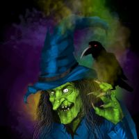 Ye olde WITCH - hat variant by kustom65