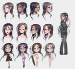 Twin-tail new style sketches by twin-tail
