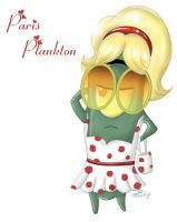 Paris Plankton by chesney