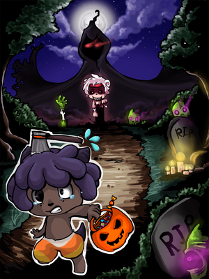 Halloween Contest Entry by OrangeQbe