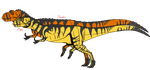 Metriacanthosaurus concept by beastisign