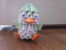 another 3d origami penguin by itsPam