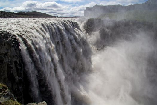 Dettifoss, Iceland by JohnVbs
