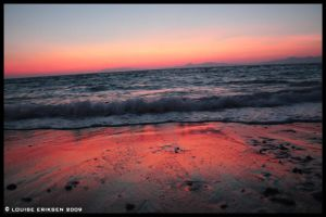 Rhodes - Western Sunset by LillynDK