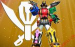 Gokai-Oh Wallpaper by blakehunter