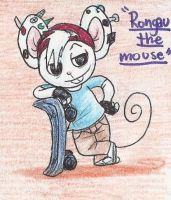 Rongau the mouse by tonoly21