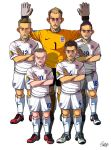 [2014 World cup Edition] D team : England by sakiroo