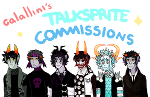 TALKSPRITE COMMISSIONS OPEN by ashlooloo