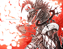 King by Ink-Leviathan
