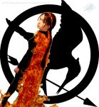 Katniss Everdeen: The Girl Who Was On Fire by VandorWolf