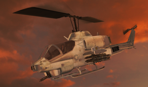 100% pose-able AH-1 Cobra (XPS Re-Updated) by bstylez