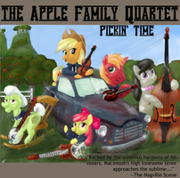 Apple Family Quartet (plus one): Pickin' Time by Obsequiosity