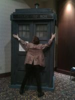 TARDIS at Dragon*Con by CptTroyHandsome