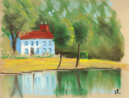 House By The Lake II by ronnietucker